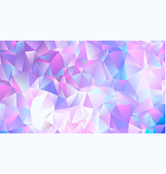 pastel bright purple low poly backdrop design vector image