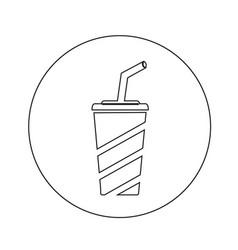 Soft drink icon design vector