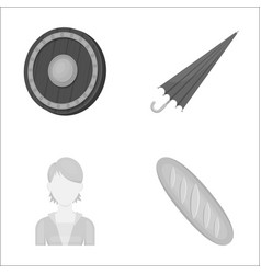 business hairdresser history and other web icon vector image vector image