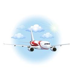 A cruising plane vector