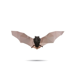 Bat abstract vector image