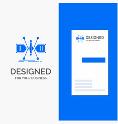 business logo for architect constructing grid vector image