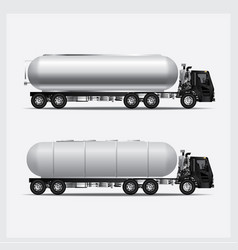 cargo trucks transportation vector image