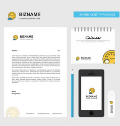 deadline business letterhead calendar 2019 and vector image