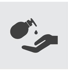 Liqud soap icon vector image