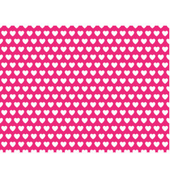 pink heart shape pattern vector image