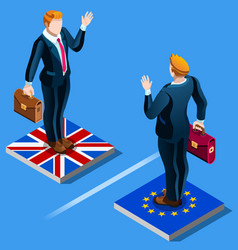 Uk united kingdom brexit from the eu european vector