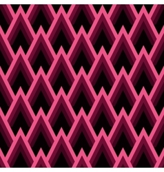 Abstract seamless geometric pattern with triangles vector