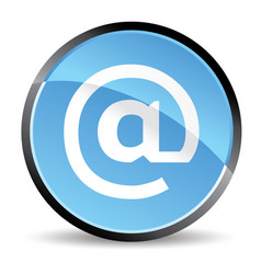 arroba icon vector image