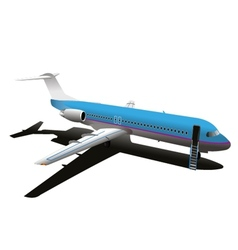 Commercial Airplane Stock vector image