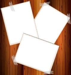 empty cards vector image