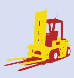 Fork lift vector