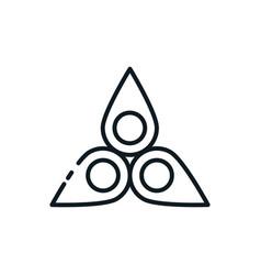Holy trinity symbol design vector