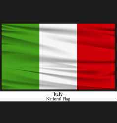 National flag of italy vector