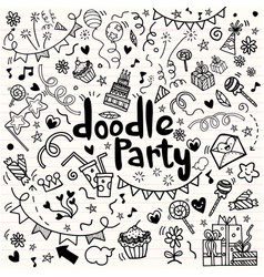Objects and symbols on party element vector