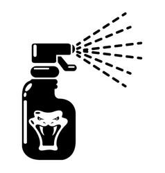 Pesticide icon simple style vector