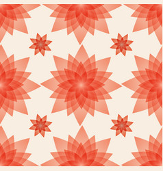 Seamless pattern background with artificial red vector