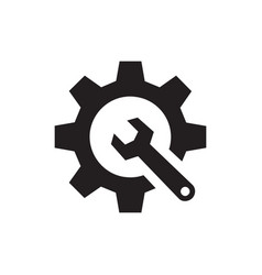 seo - black icon on white background vector image