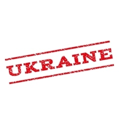 Ukraine watermark stamp vector