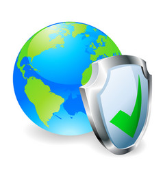 internet security concept vector image