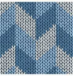 Knitted Pattern vector image vector image