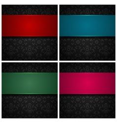ornament fabric texture vector image