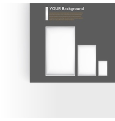 background window Texture design vector image