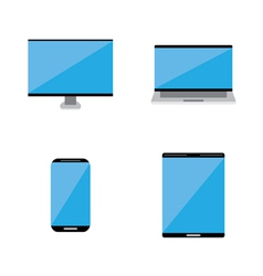 Smart technology icon vector image