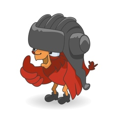 Cartoon Red bird vector image vector image