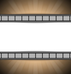 Film strip template vector