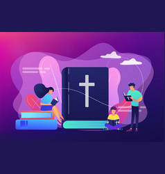 holy bible concept vector image