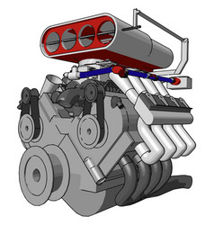 Invention mechanical engineer or color vector