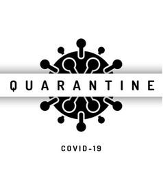 Pandemic stop coronavirus outbreak covid-19 2019 vector