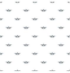 Phenix wing pattern seamless vector