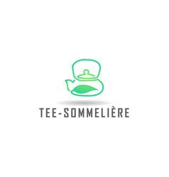 Tea shop logo design inspiration vector