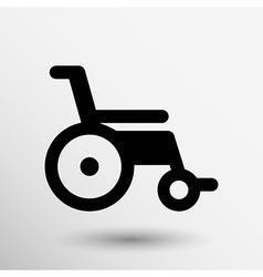 Disabled icon sign wheelchair handicap symbol vector
