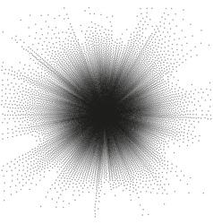 Stippling Design Elements EPS 10 vector image