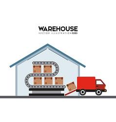 warehouse vector image vector image