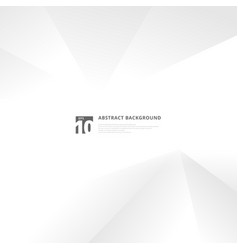 abstract technology white and gray geometric vector image