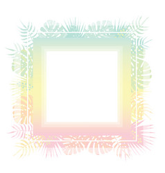 Abstract template with pastel gradient and vector