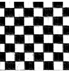 Checkered Grunge Texture vector image