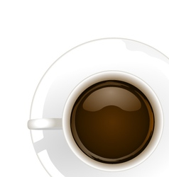 Coffee corner vector