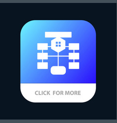 Flowchart flow chart data database mobile app vector