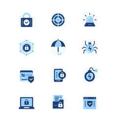Information security data protection - set of vector