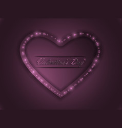 love valentines day declaration of love vector image