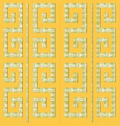 ornamental greek seamless pattern ethnic vector image