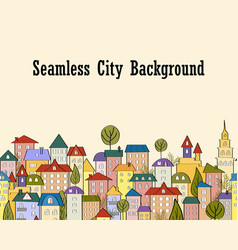 seamless banner background with rows of colorful vector image