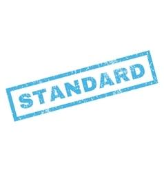 Standard Rubber Stamp vector
