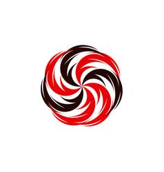 Tornado logo symbol isolated typhoon vector