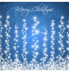 Stylized Colorful Christmas Card vector image vector image